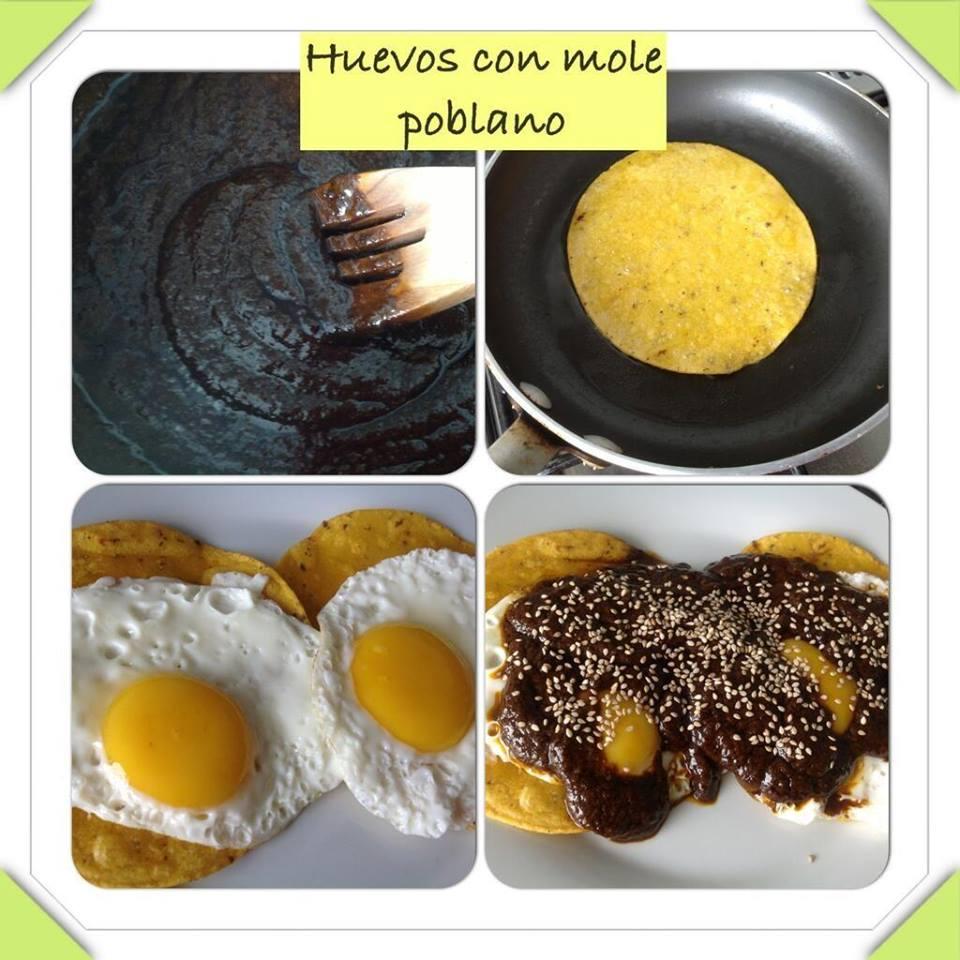 huevos mole